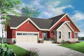 Plan of the Week   quot Picture Perfect Country Cottage  quot    Drummond    DrummondHousePlans com   Plan    V   Front View