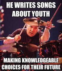 Neil Peart memes | quickmeme via Relatably.com