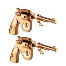 <b>Trend Street Fashion Pistol</b> Piercing Earrings Jewelry Sale, Price ...