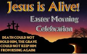 Image result for Easter morning Celebration Service