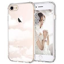 MOSNOVO iPhone 8 <b>Case</b>, iPhone 7 Clear <b>Case</b>, Cloud <b>Pattern</b> ...