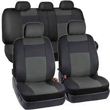 9PCS <b>Universal Car Seat Cover</b> Automobile Covers Protector for ...