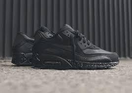 black air max white spotted sole buy black black nike air