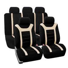 <b>Beige</b> / <b>Cream</b> - Car Seat Covers - Interior Car Accessories - The ...