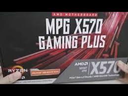 Видеобзор от покупателя на <b>Материнская плата MSI MPG</b> X570 ...
