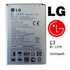 LG orignal <b>Battery BL</b>-<b>53YH</b> For <b>LG G3</b> D855 D850 (<b>Original</b> ...