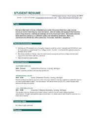 Resume Objective For Part Time Job u d     happytom co