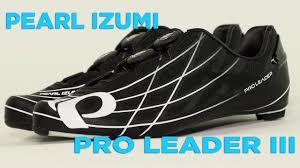 PEARL <b>IZUMI Men's</b> P.R.O. Leader III Road <b>Shoe</b> - YouTube