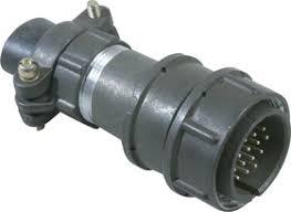 2РМТ24КПН19Ш1В1, Вилка на <b>кабель</b> с <b>прямым</b> патрубком для ...