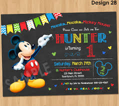 mickey mouse clubhouse birthday invitations ctsfashion com mickey mouse clubhouse birthday invitations disneyforever hd