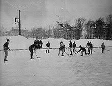 Image result for 1940's hockey pond