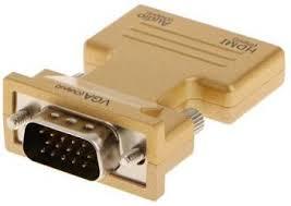 Smart Tech <b>HDMI Female to</b> VGA Male converter 0.211 m HDMI ...