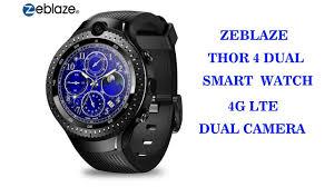 <b>Zeblaze THOR 4 Dual</b> Smart Watch - YouTube