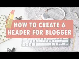 Cara membuat Gambar Header blog