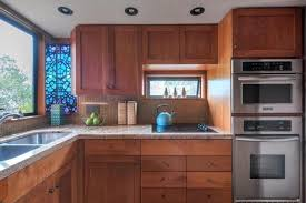 fashionable shaped retro kitchen