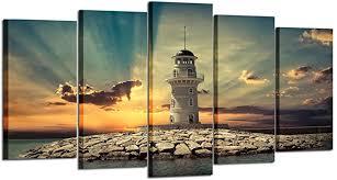 Kreative Arts - Large 5 Pieces Canvas Prints Wall Art ... - Amazon.com