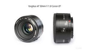 <b>Объектив YongNuo AF 50mm</b> f/1.8 Canon (1-я версия) купить в ...