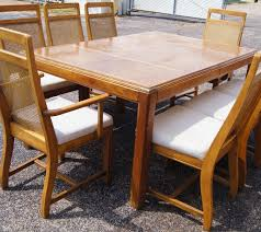 bamboo style cane dining chairs
