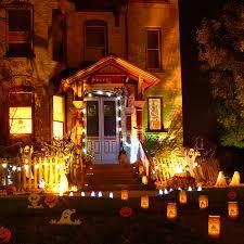 outside halloween decorations ideas image of homemade exterior design and decks exterior home design child friendly halloween lighting inmyinterior outdoor