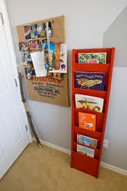 office bulletin board design spaces eclectic with magazine rack storage bulletin board design office