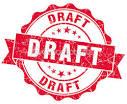 draft copy