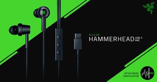 <b>In Ear</b> Headset - Razer Hammerhead <b>USB</b>-<b>C ANC</b>