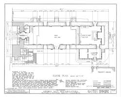 floor plan of church c 1936 from historic american buildings survey architecture drawing floor plans