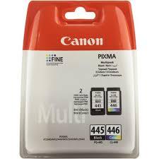 Комплект оригинальных <b>картриджей Canon PG</b>-<b>445</b> (с черными ...