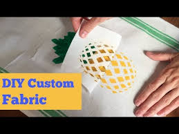 Make Your Own <b>Custom Fabric</b> with Freezer Paper | Easy Screen ...