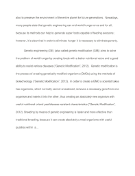 is genetic engineering the answer to ending global hunger sample pa…is genetic engineering the answer to ending global hunger sample paper   essay