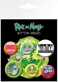 Официальный <b>набор значков Rick</b> and Morty — Quotes - Cosmic ...