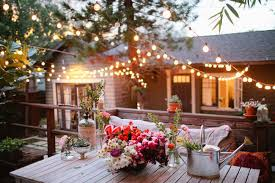 string backyard lighting allows users to decorate places of the yard that are not usually covered backyard string lighting ideas