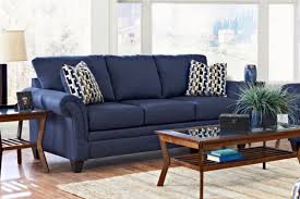 wondrous living room style with cool navy blue sofa artistic wall art paintings decor mixed blue living room furniture ideas