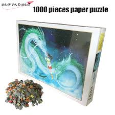 <b>MOMEMO</b> Spirited Away Puzzles 1000 Pieces Adult Paper Puzzle ...
