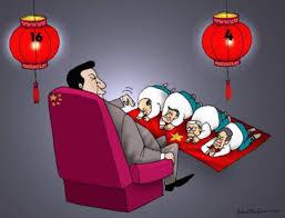 Image result for việt cộng quỳ lại Tàu chệt