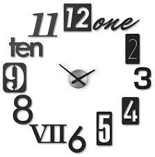 Часы настенные кварцевые Umbra Numbra 118430-040 — купить ...