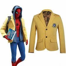 <b>Spider</b>-<b>Man</b> Homecoming <b>Cosplay</b> Jacket Peter Parker Blazer ...