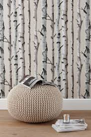 zones bedroom wallpaper: buy trees silver wallpaper from the next uk online shop