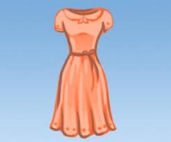 <b>Женская одежда</b> на немецком с произношением и <b>картинками</b>