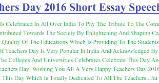 essays on teachers day essay on teachers day in english   essay topics