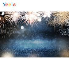 Yeele Happy 2020 New Year <b>Backdrop</b> Fireworks Christmas Baby ...