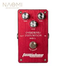 <b>NAOMI</b> AOD 1 Overdrive Distortion <b>Electric Guitar</b> Effect Pedal ...