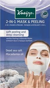 Kneipp Очищающая <b>маска</b>-скраб <b>2 в 1</b> с солью Мертвого моря и ...