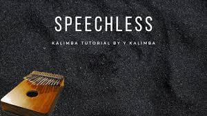 【EASY <b>Kalimba</b> Tutorial】Speechless by Scott <b>Naomi</b> from Aladdin ...
