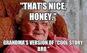 Memes Vault Grandma Meme Face via Relatably.com