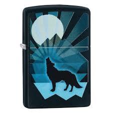 Зажигалка Zippo 218 Wolf And Moon Design (29864 ... - ROZETKA