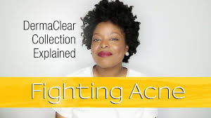 Fighting <b>Acne</b> - <b>DermaClear</b> Collection Explained - YouTube