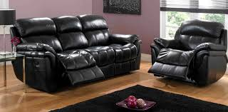stately black leather reclining sofa black leather sofa perfect