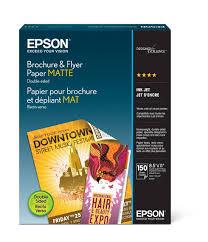 <b>Epson</b> Brochure and Flyer <b>Paper Matte Double</b>-<b>Sided</b> (S042384 ...