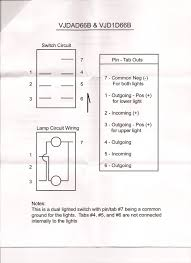 7 pin rocker switch wiring diagram 7 image wiring how to wire illuminated spdt dpdt switches jeepforum com on 7 pin rocker switch wiring diagram